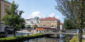 The café town of Alingsås in West Sweden