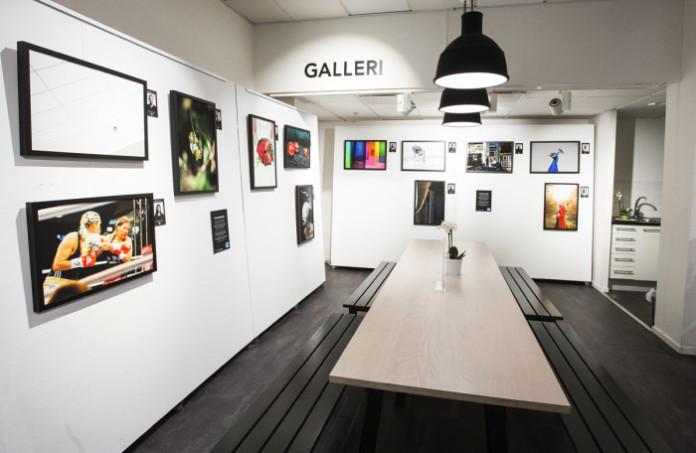 Photo Gallery At The Scandinavian Store In Stockholm Sveavgen