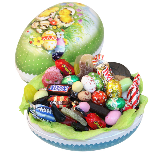 Yummy Swedish Easter Eggs Filled With Candy