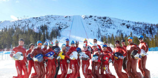 Idre Fjäll speed skiing