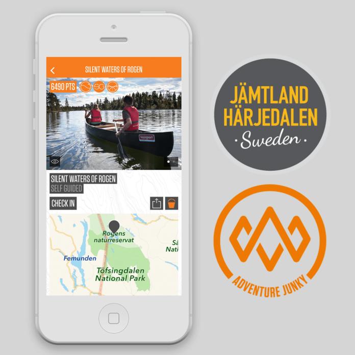 Adventure travel: Jämtland Härjedalen partners with the Adventure Junky app