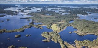 National Park Lake Åsnen