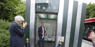 Free public toilets in Stockholm
