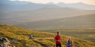 Trail running in Jämtland