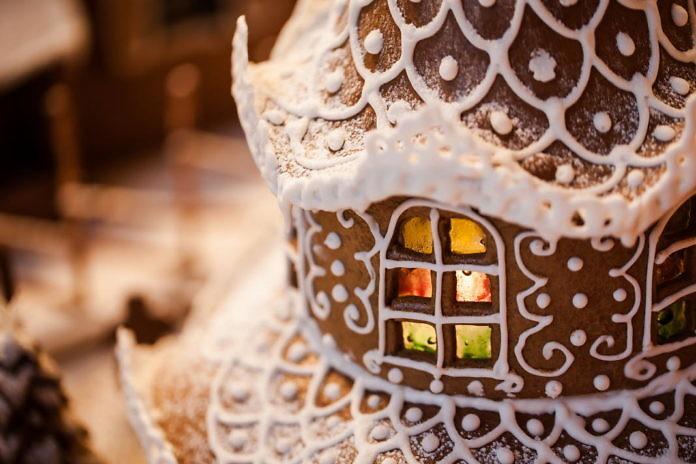 Gingerbread houses ArkDes, Stockholm