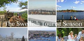 The Swedish tourist season