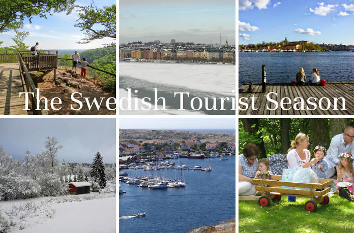 The Swedish tourist season