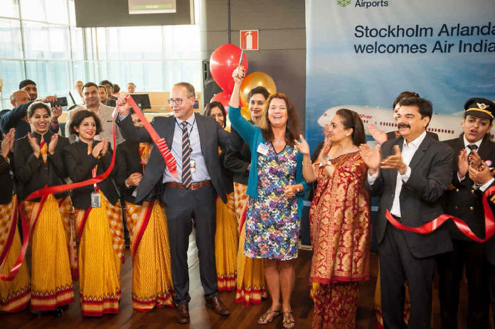 Air India: New direct line from Delhi to Stockholm