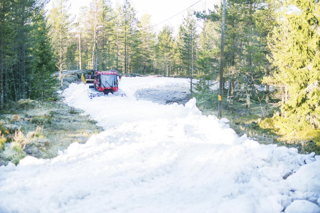 Early winter season in the Swedish mountains: Ramundberget and Grönklitt