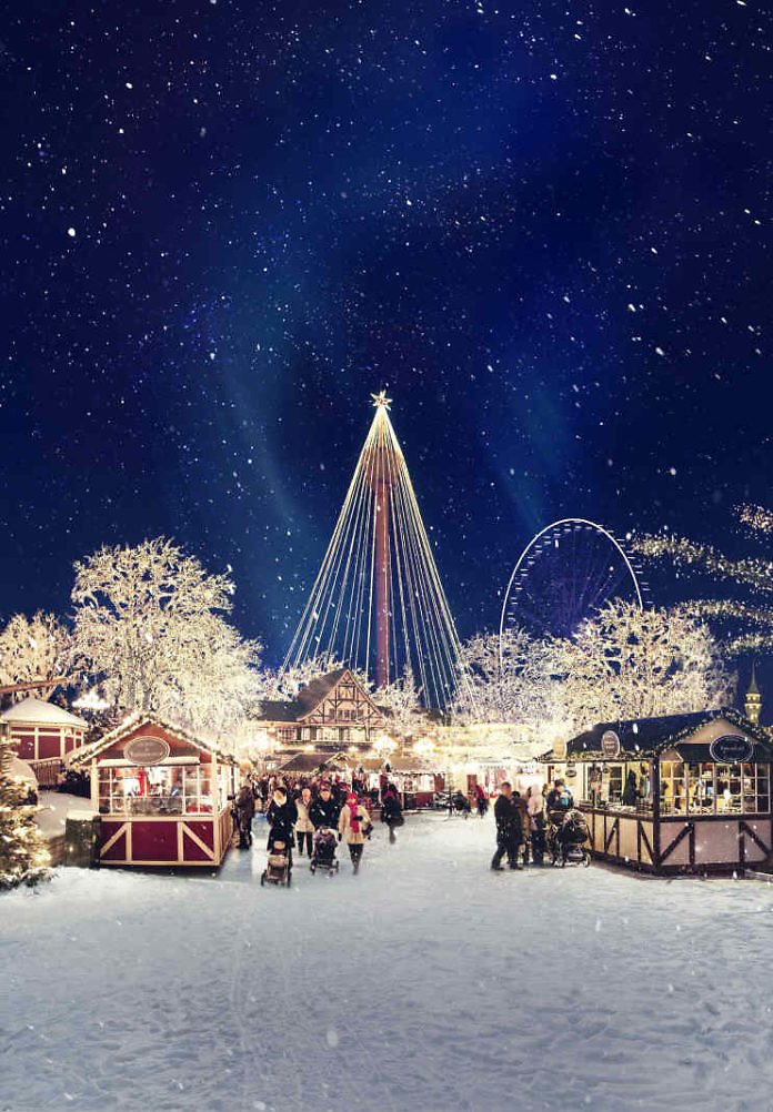 Christmas at Liseberg in Gothenburg opens tonight - with more lights than ever