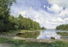 Olof Arborelius, Lake View at Engelsberg, Västmanland, 1893