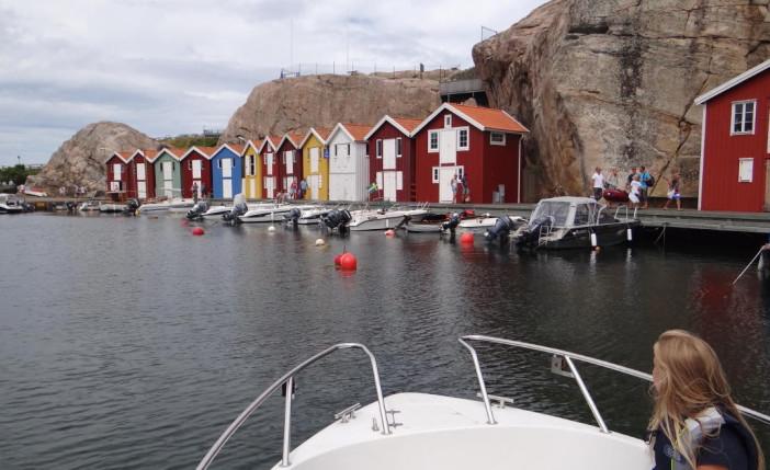 Ängebacken at the end of the long Smögenbryggan in Smögen, Bohuslän