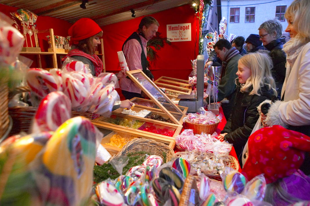christmas market southern france