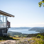 The Swedish High Coast: Summit restaurant on Skule moutain
