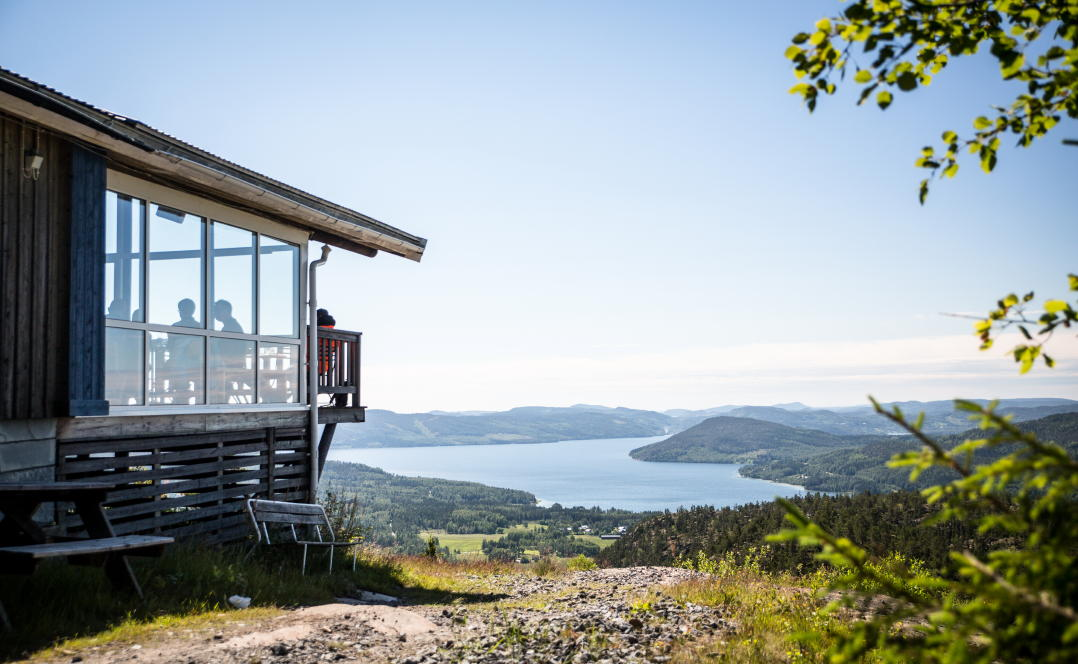 Swedish High Coast Summit Restaurant On Skule Mountain