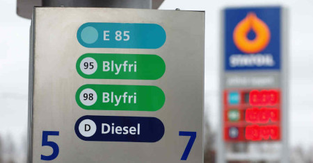 Fuel prices in Sweden