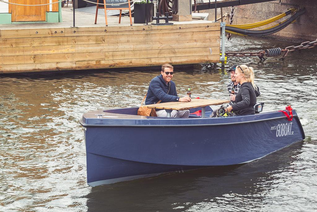 Goboat New Picnic Boats In Stockholm Swedentips Se
