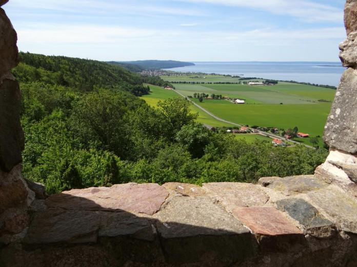 Gränna by Lake Vättern in Småland