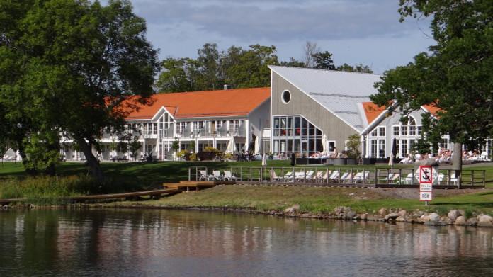 The Gränsö hotel in Västervik, Småland