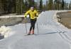 Idre Fjäll cross-country ski track October 16, 2015