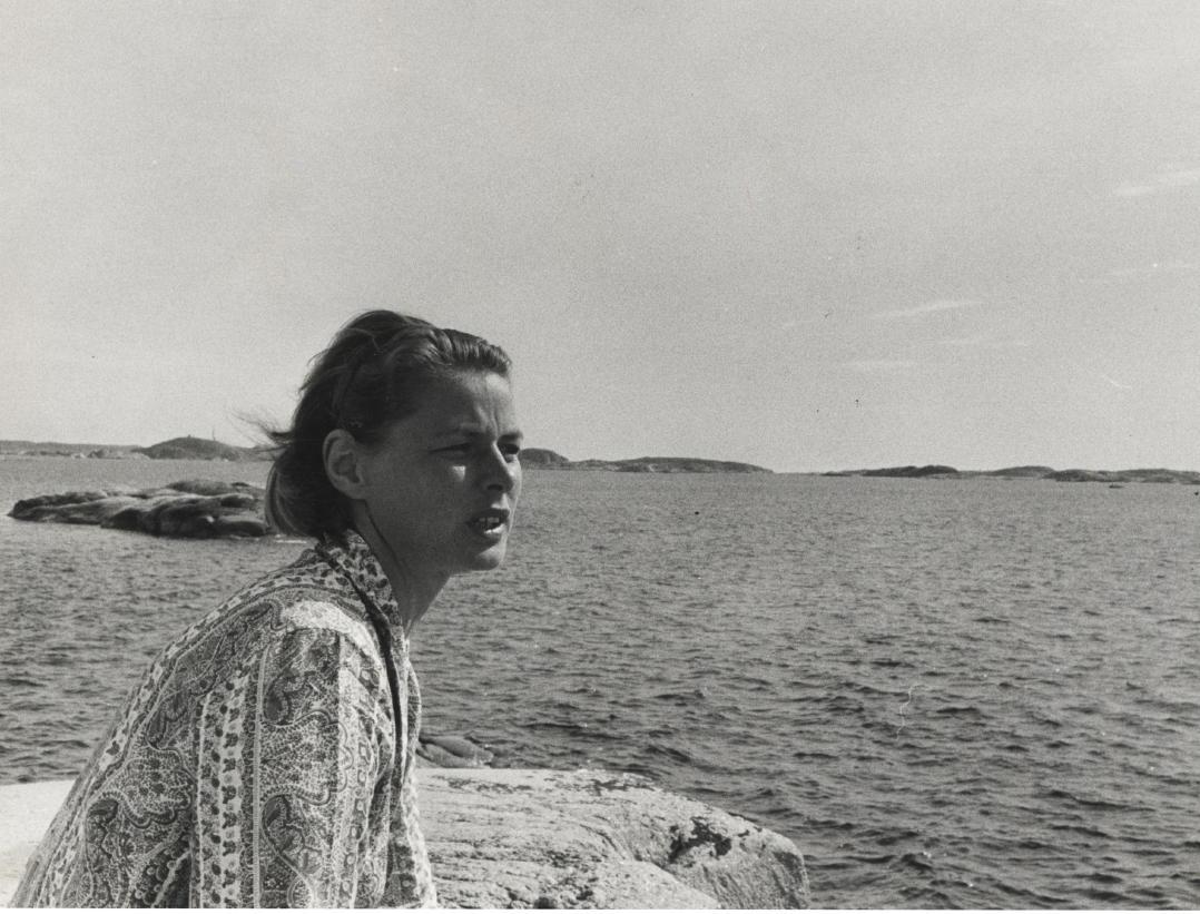 Ingrid Bergman In Fj 228 Llbacka Exhibition At Bohusl 228 N Museum