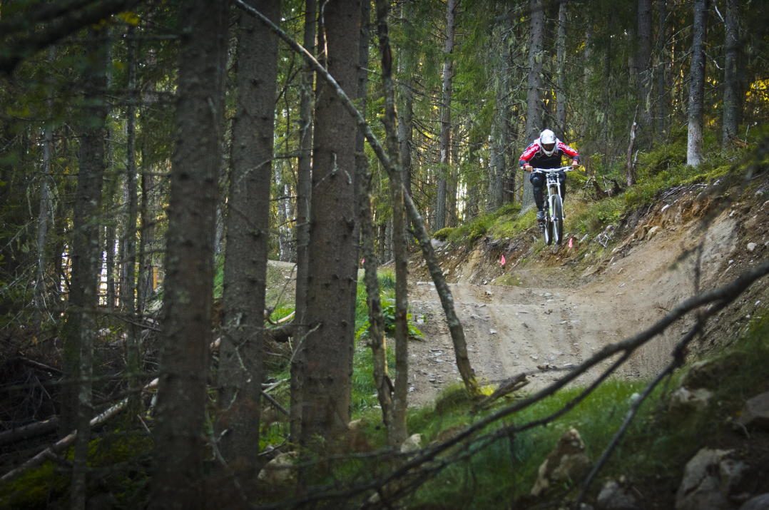 Järvsö bike park open until November 1