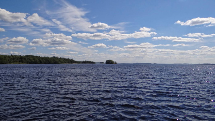 Lake Bolmen in Småland