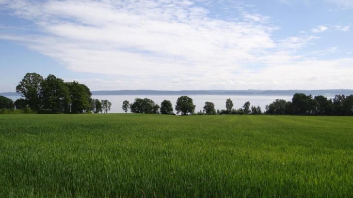 The Lake Vättern near Habo