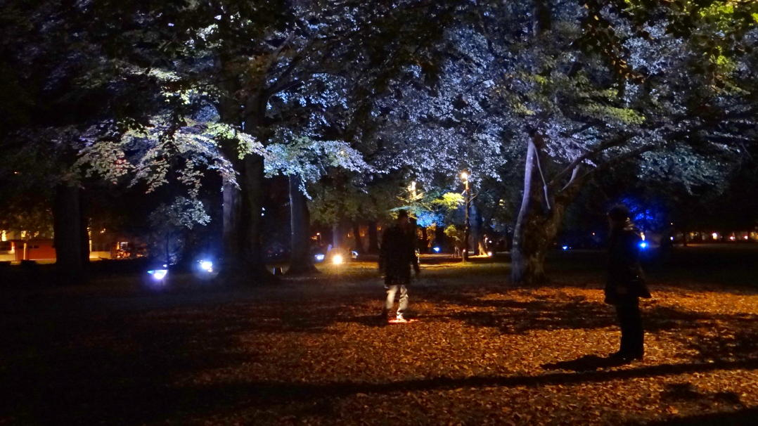 The Lights In Alings 229 S Festival An Urban Lighting Exhibition