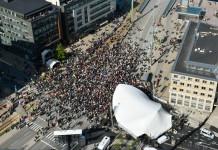 Grand opening of the neighbourhood Malmö Live