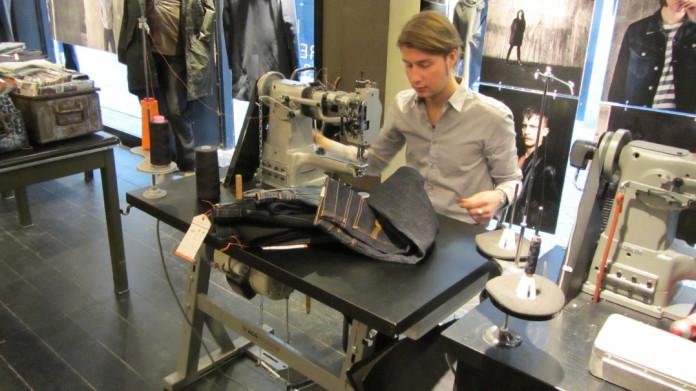 Nudie Jeans store in Gothenburg