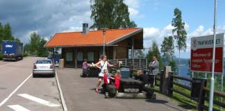 Rest areas in Sweden: Tossebergsklätten