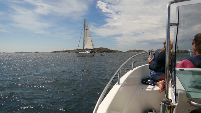 Sailing on the west coast of Sweden