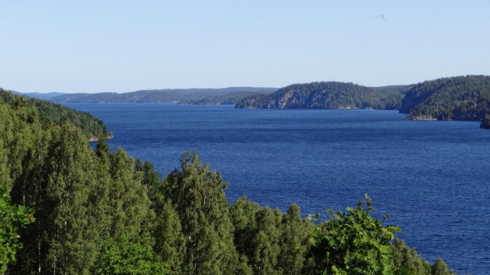 Lake Stora Le in northern Dalsland