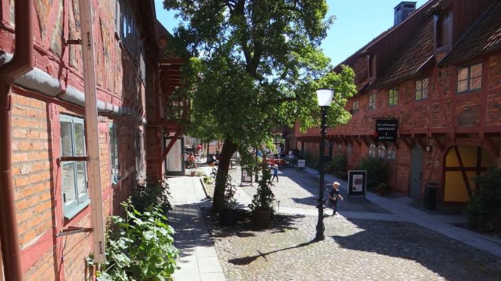 Ystad in Skåne