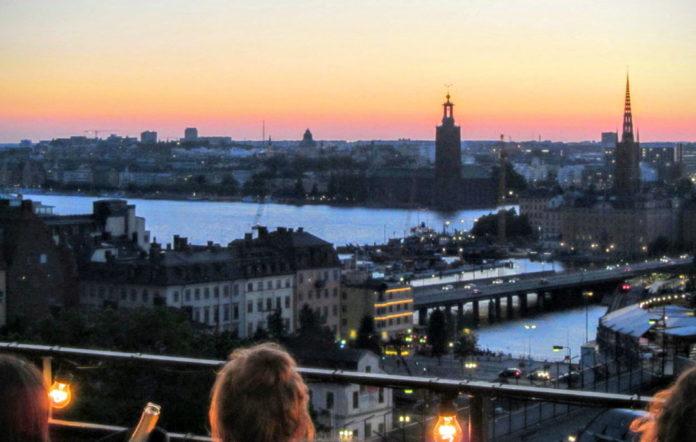 Mosebacke terrace, Stockholm