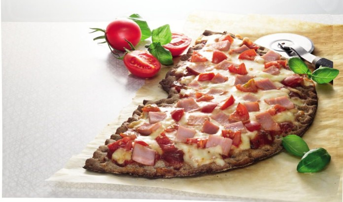 Swedish cripbread pizza