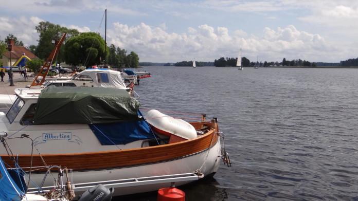 Askersund by Lake Vättern