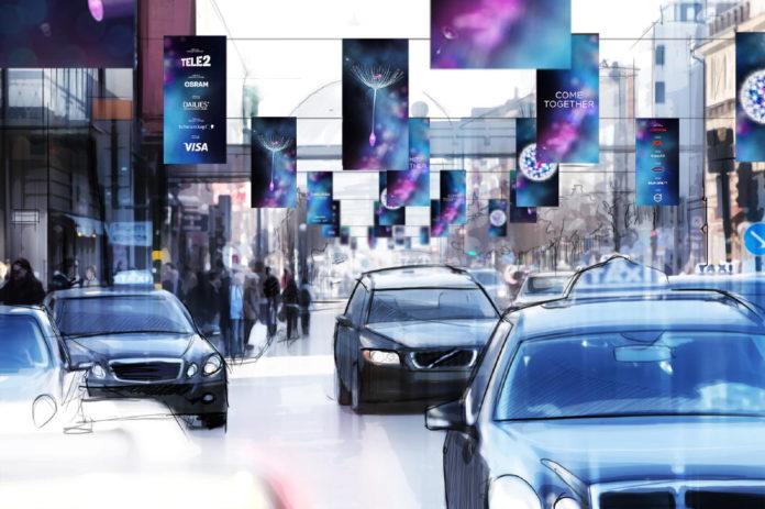 Citydressing, singing tunnels and musical crosswalks during ESC Stockholm