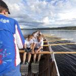 Church boat races on Lake Siljan