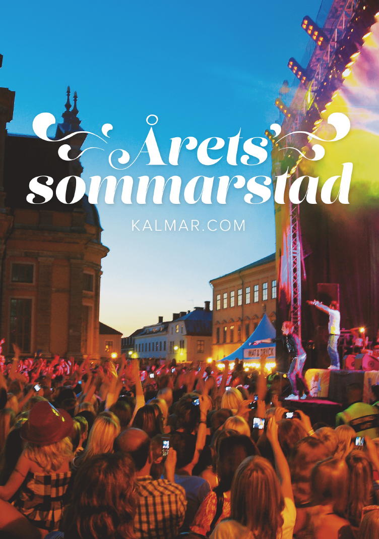 Kalmar is voted best Swedish Summer Town second year in a row