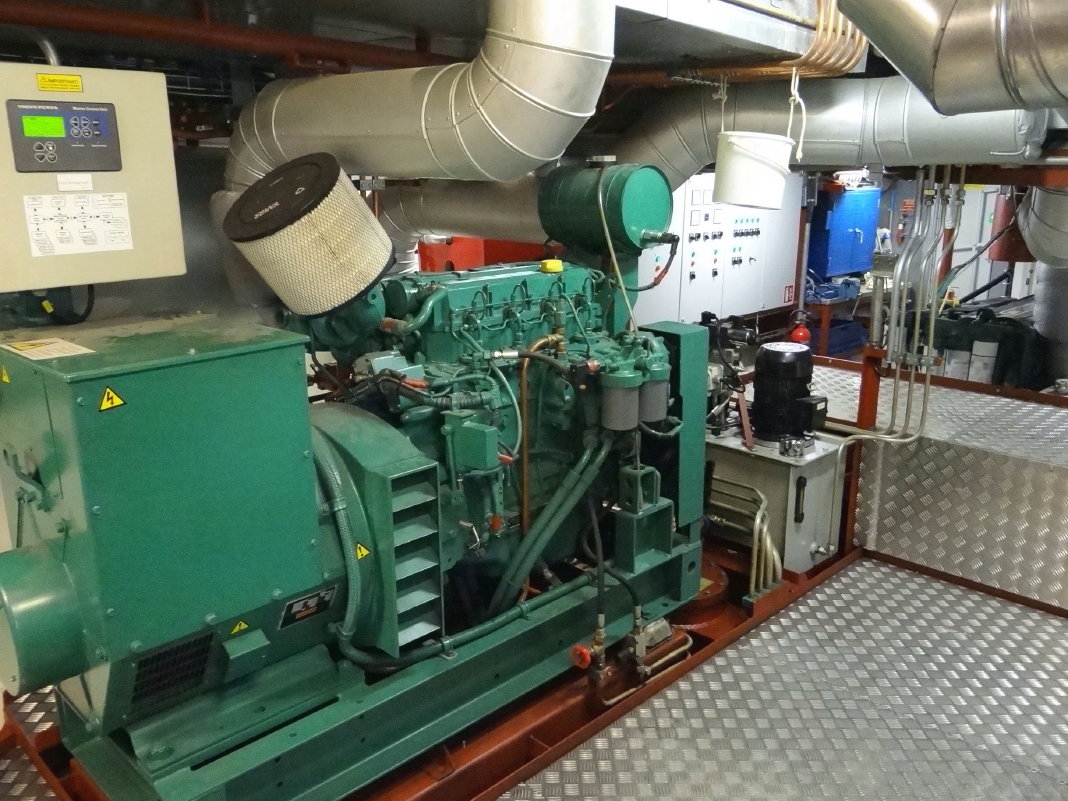 The M/S Diana diesel engine