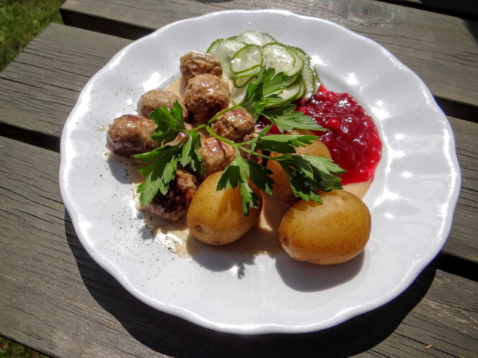 "Swedish meatballs (""köttbullar"")"