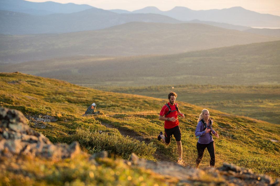 Trail running in Jämtland