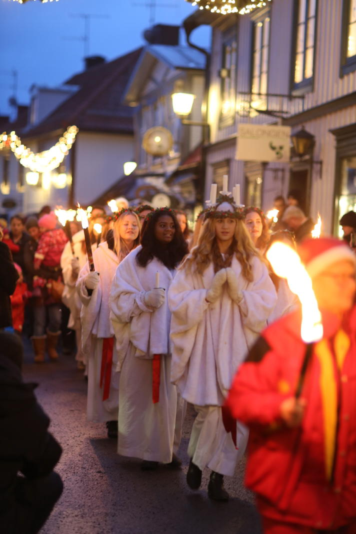 Sigtuna: The Feast of St. Lucia, December 13