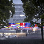 "Colourful ""flag hotel"" wins competition for new hotel at Gothenburg airport"