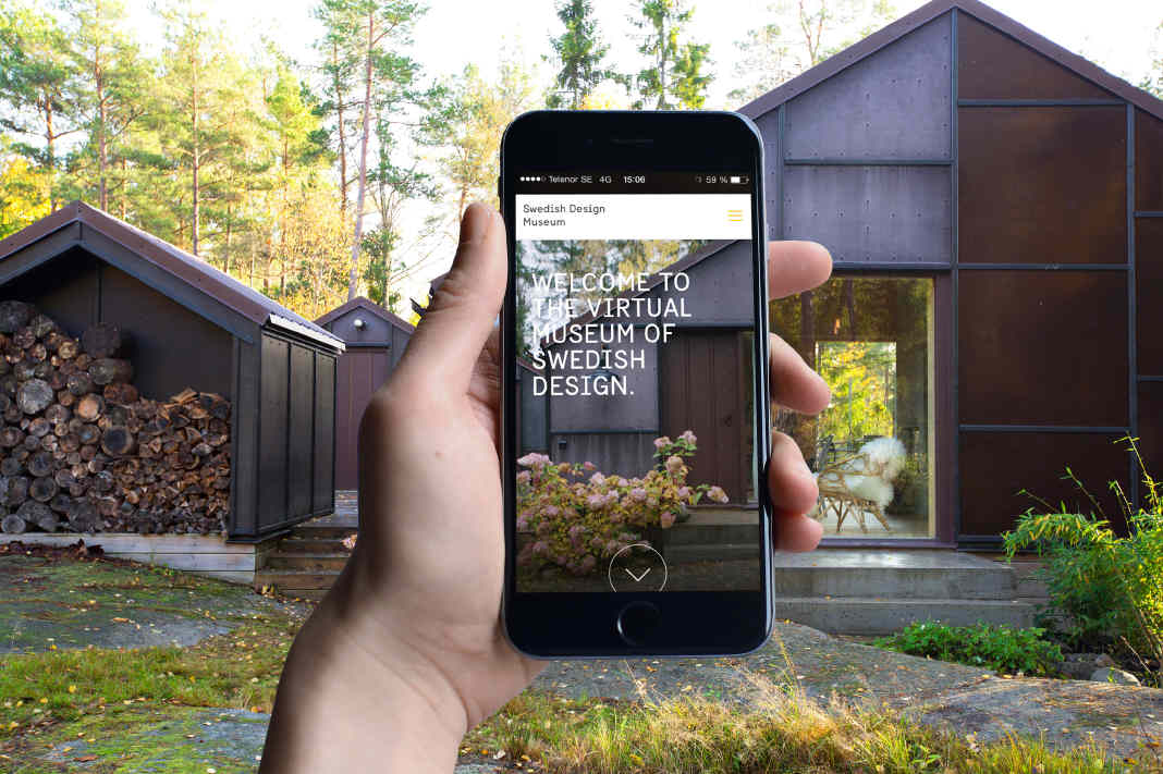 opening of the virtual Swedish Design Museum, focusing on architecture, design and fashion