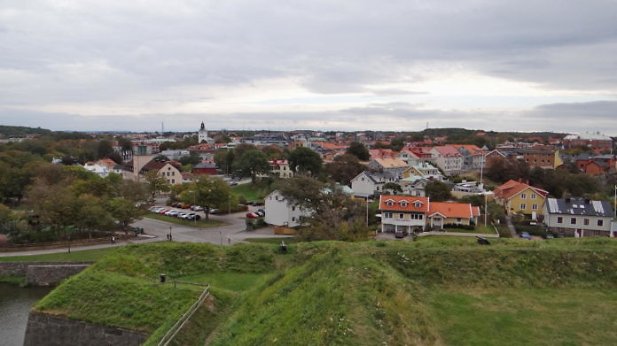 Varberg: Surfer's paradise, health resort, shoe city and an exciting fortress