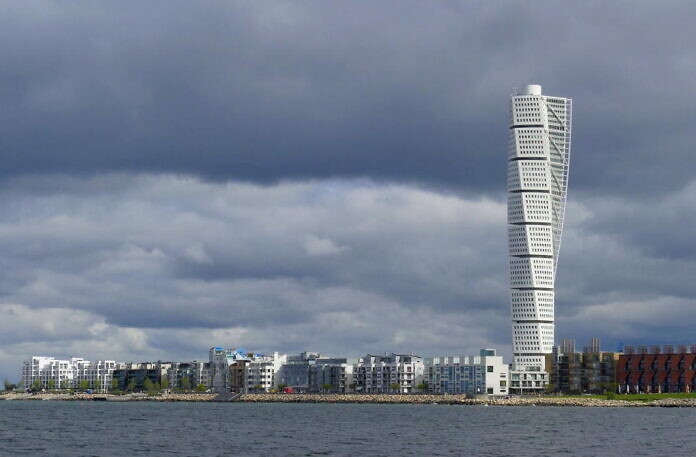 Malmö with Turning Torso
