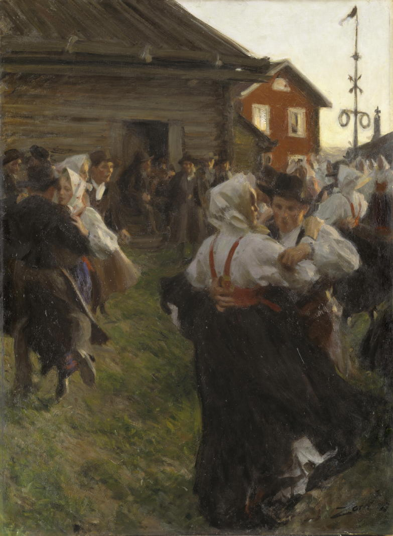 Anders Zorn, Midsummer Dance, 1897 Oil on canvas